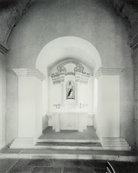 interior: the chapel of guia fortress, macau, 30 november by laurence aberhart