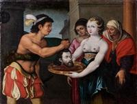 salomé recevant la tête de saint jean baptiste by nicolas bollery