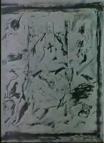 studio per il ritratto del cardinal decano by scipione (gino bonichi)