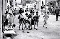 la sortie de l'école by christian lemaire