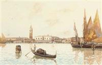 il bacino di san marco, venezia by guido agostini