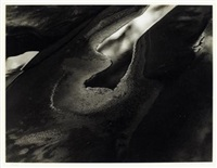 light, mud pool, capitol reef, utah by minor white