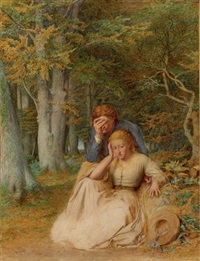 the remorseful lovers by edward thompson davis