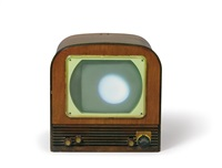 moon is oldest tv by nam june paik