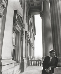senator john f. kennedy, the capitol, washington d.c. by arnold newman