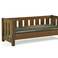 settle (no. 208) by gustav stickley