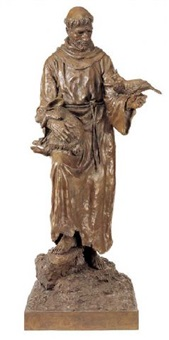 st. francis of assissi by herb mignery