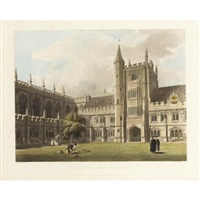 a history of the university of oxford, its colleges, halls, and public buildings (2 vols. w/114 works) by (publisher) rudolph ackermann
