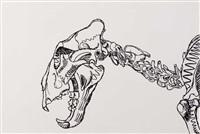 lion skull by erik bart andriessen