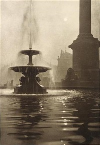 the fountain.trafalgar square, london by charles job