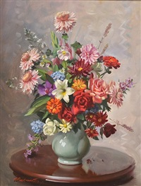still life by ernest william buckmaster