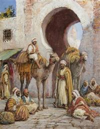 at the gates of the medina by arthur trevor haddon