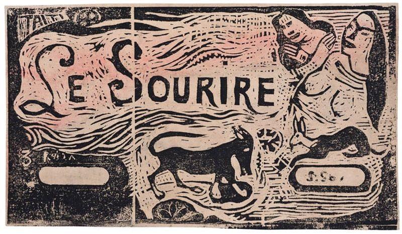 titre pour le sourire renard bustes de femmes et lapins by paul gauguin