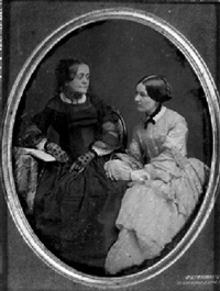 portrait of two women by jeremiah gurney