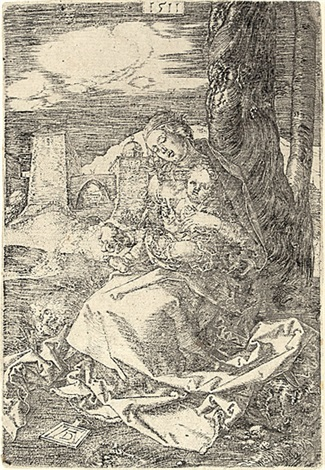 die jungfrau mit der birne by albrecht dürer