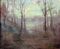 bronxville new york twilight by hal robinson