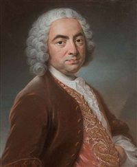 portrait (m. vituret?) by pierre allais
