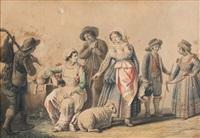scena popolare by saverio xavier della gatta
