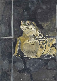 toad (study) by graham sutherland