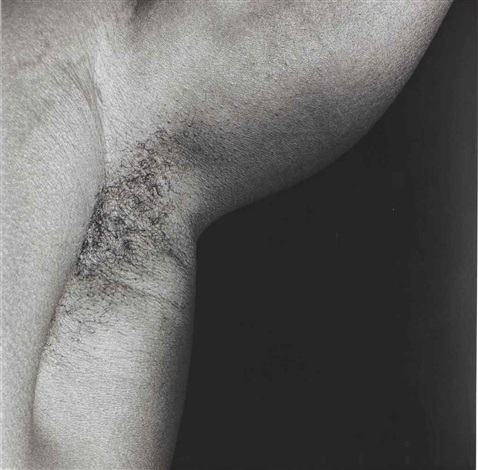 armpit by robert mapplethorpe