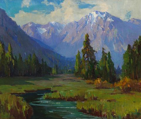 sierra stream by marion kavanaugh wachtel