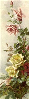 roses (+ another; pair) by valentine synave nicolaud (fray) val
