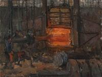 steelmill by leonhard sandrock