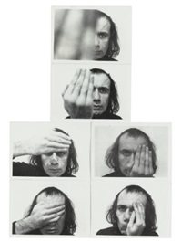passes (set of 6) by vito acconci