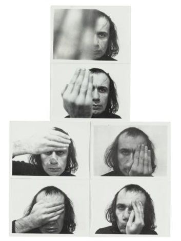 passes set of 6 by vito acconci