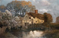 an evening at the old cottage by walter alfred firkins
