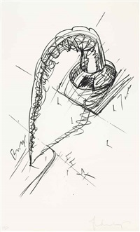 arch in the form of a screw, for times square nyc by claes oldenburg