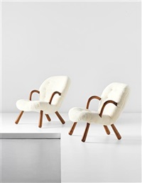 armchairs (pair) by martin olsen