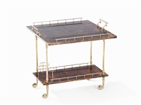 serving trolley by aldo tura