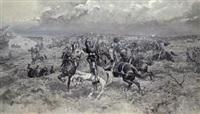 reiterschlacht by thaddaus von ajdukiewicz