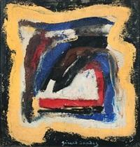 sans titre, carré coloré by gérard sandoz