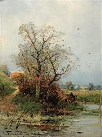 l'hiver et le printemps by heinz flockenhaus