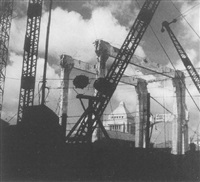 tokyo, under construction after the war by noboru ueki