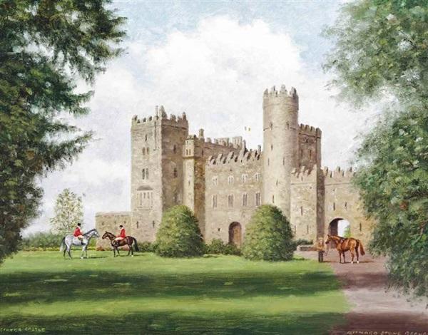 Kilkea Castle County Kildare Ireland By Richard Stone
