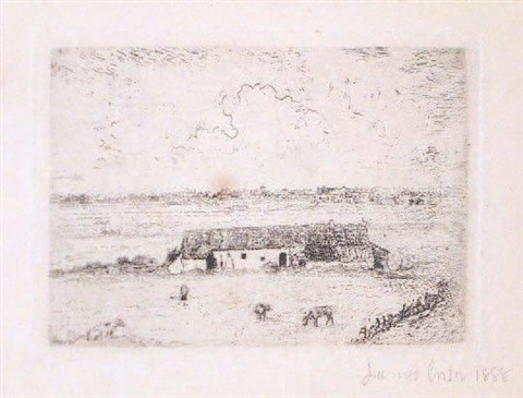 la ferme flamande by james ensor