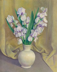 irises by kenneth miller adams