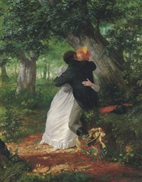 a clandestine embrace by fritz quidenus