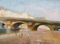 le pont-neuf v paříži by walter bondy