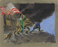 september 11th, 1st version by jamie wyeth