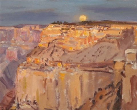 grand canyon sunrise by george gardner symons