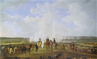 napoleon and his troops at ostrovna, july 26 1812 by albert adam
