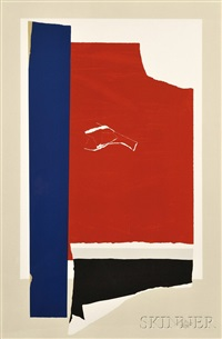 on the wing by robert motherwell