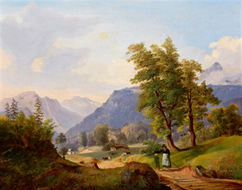 am heimweg by julius abbiati
