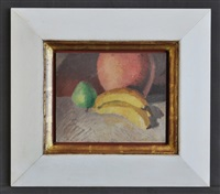 still life. unsigned by godfrey clive miller