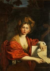 saint cecilia by angelika kauffmann