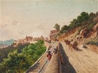 view of murriali, italy by paul rudolf linke